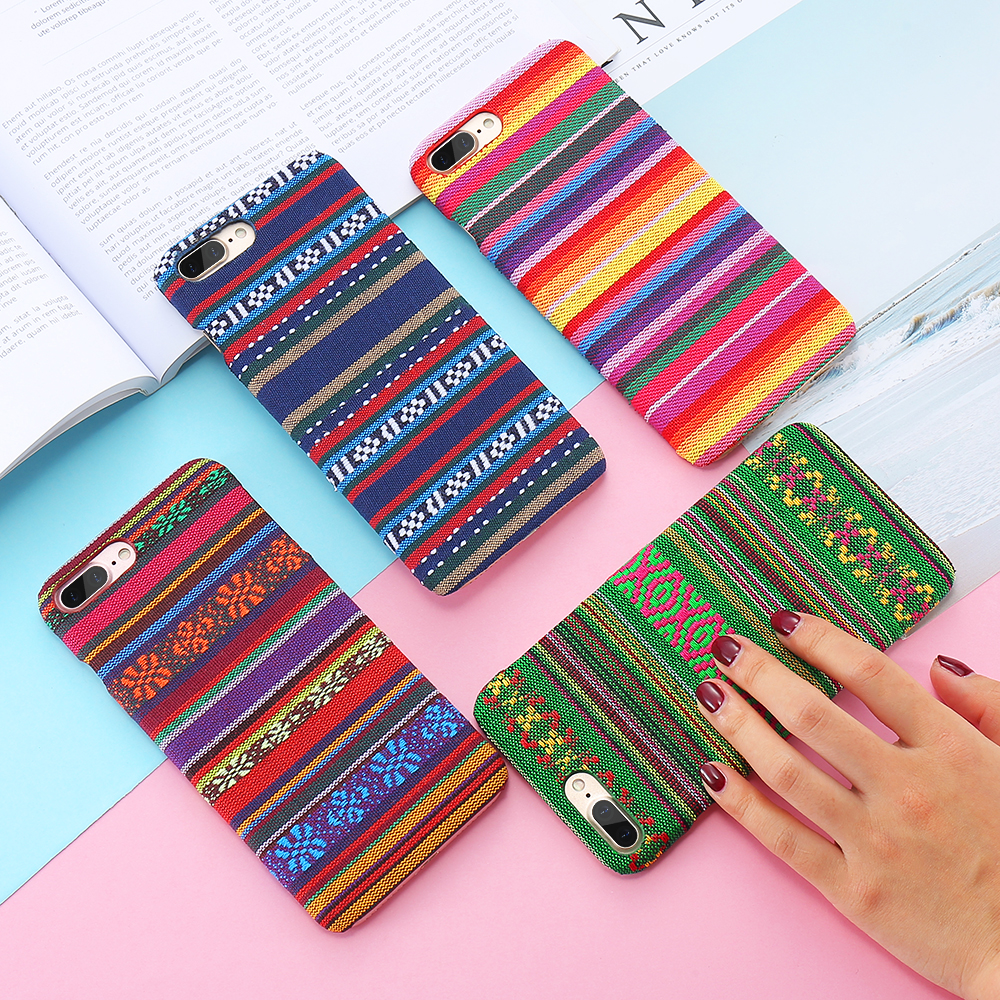 Bohemian Style Phone Case For iPhone 6 6S 7 Plus 5 5S SE Exotic Folk Traditional Cloth Fabrics Back Cover For iPhone 6 i 7 Case (4)