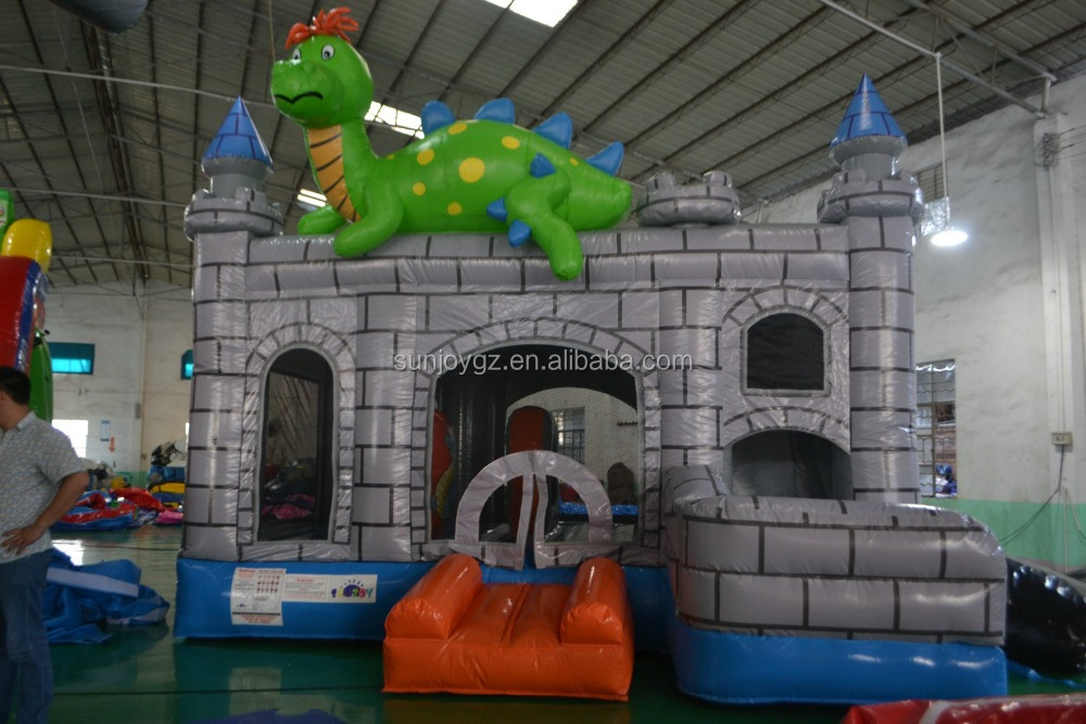 Hot selling commercial inflatable dinosaur bouncer jumper
