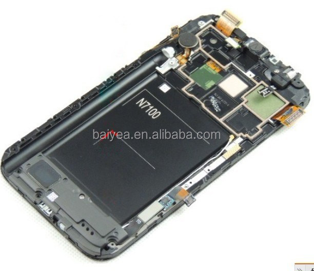 For lcd t889 digitizer assembly for samsung galaxy note 2 n7100 lcd display