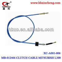 auto control cable clutch cable MITSUBISH CLUTCH CABLE HEBEI JUNSHENG FACTORY
