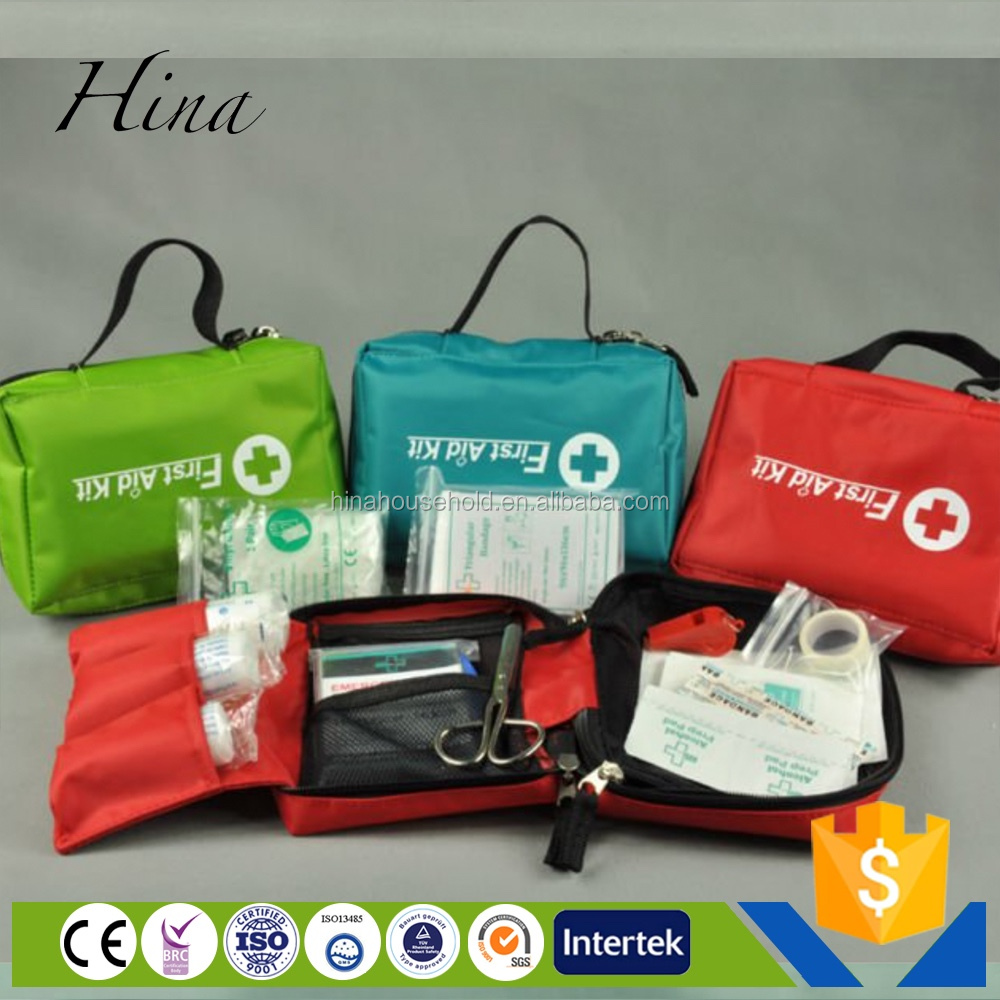 CE FDA ISO Emergency hot sale Protable first aid kit car
