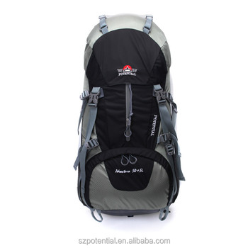 high quality backpacking bagckpack with raincover factory