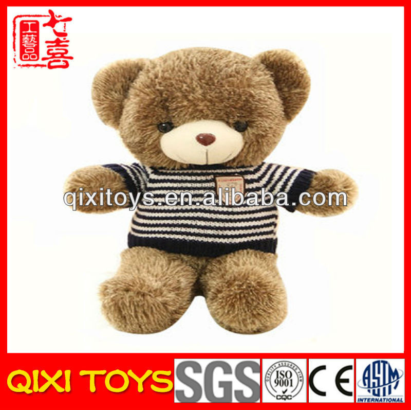 Handmade cute plush stuffed toy teddy bear doll