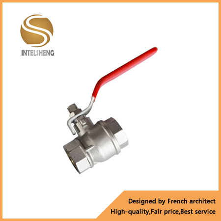 Globe Underfloor Heating Ball Valve High Temperature Water 1 Inch Ball Valve Long Handle