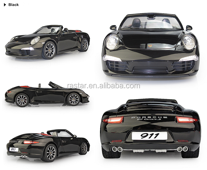 Rastar toy Porsche 911 licensed rc racing cars for kids