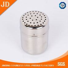 New Promotion stainless steel storage spice jar/hot sales magnetic condiment set, metal spice jar set