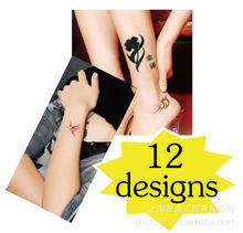 2013 new design glow in the dark tattoo ink