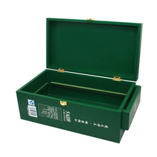 Chinese Wood Box For Wine Glasses