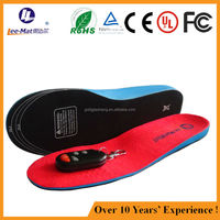 Manufacturer provide rechargeable heated insole electric thermal insole insoles for SKI boots