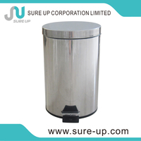 New design hand free automatic dustbin sensor trash can ljx-as2-15p(DSUA)