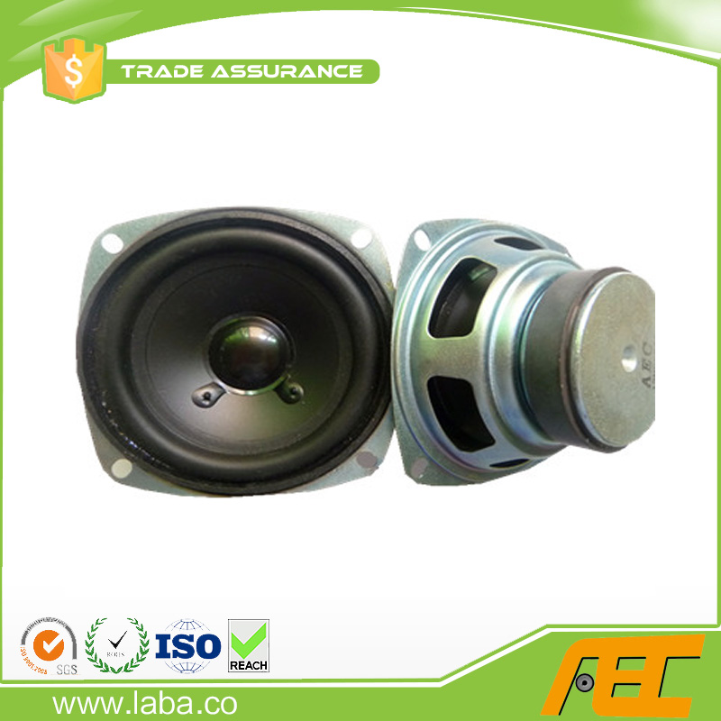wholesale 4 inch speaker parts 105mm 8 ohm 10w mini multimedia speaker