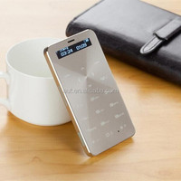 Factory wholesale price 1.68 inch Newest ultra slim mobible phone Credit Card Size Mobile Phone S5