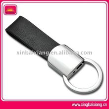 new design fashion & promotional cheap pu leather keyring