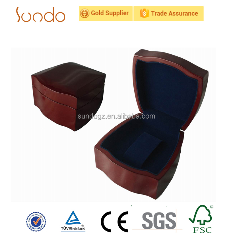 Individual promotional wood watch box