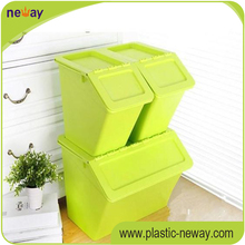 big box plastic container clothes storage box for sale