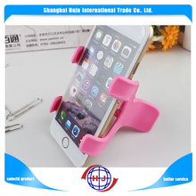 Christmas promtion different shape flexible cell phone holder