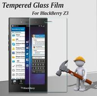 Premium Tempered Glass Screen Protector for BlackBerry Z3 Tempered Glass Screen Protector Protective Phone Film For BlackBerryZ3