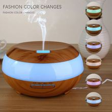 Hot selling FEA brand wooden humidifier LED aroma diffuser