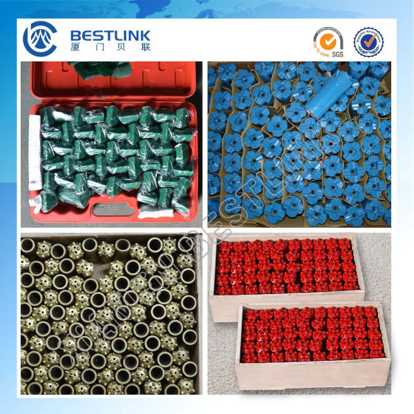 Quarry Marble Small Hole Drilling T45 T38 Thread Button Bits