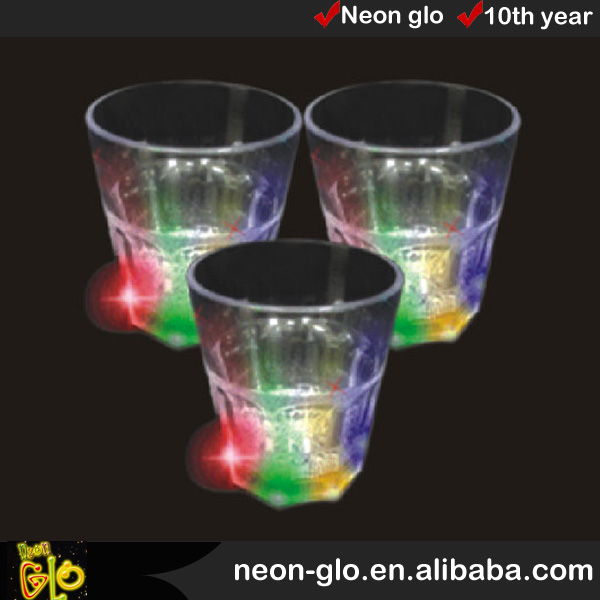 hot sale light up 8oz beer glass ,party decoration