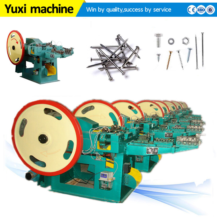 Large production capacity blind rivet heading machine|Professional iron nail machine