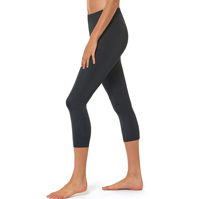 Three-quarter Length, High Waisted Compression Tights Woman Leggings for Any Workout