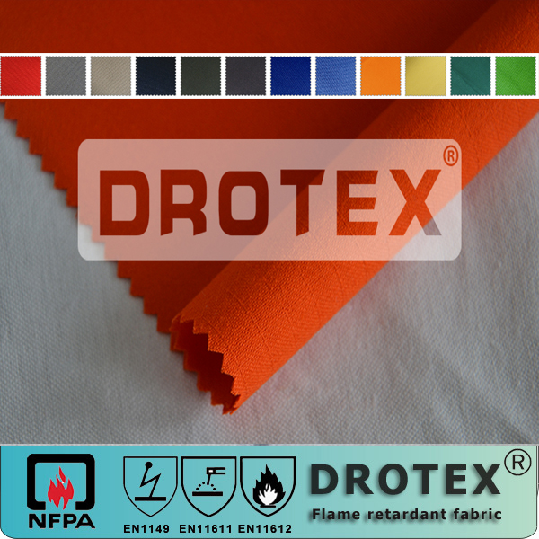 EN1149 anti-static antistatic static retardant anti static esd resistant fabric wholesale