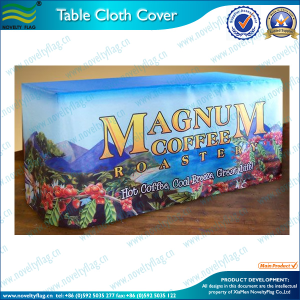 Waterproof plastic table cloth/table cover