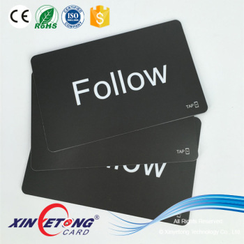 ISO14443A Type 2 504byte Ntag215 NFC Card Printable