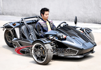 ZTR Trike Roadster Gas 250cc Auto or Manual Clutch 4 speeds with Reverse Optional Racing