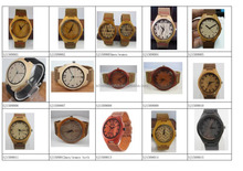 Free shipping mix wholesale natural bamboo wood wooded wristwatches for men and women 50pcs per lot