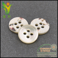 BK011 high quality white troca shell buttons