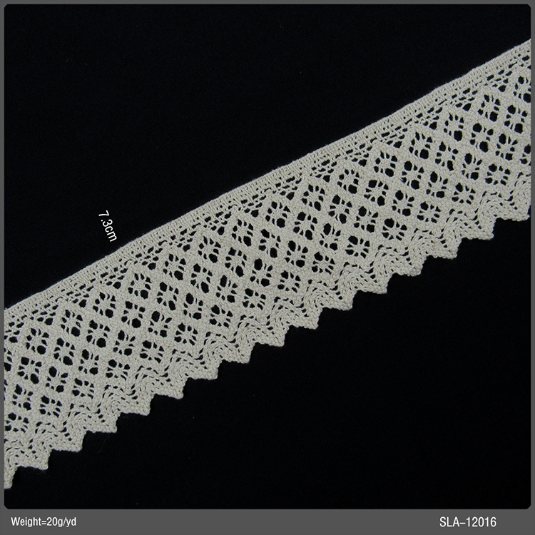 New Arrival High Quality Multicolor Design Italian Crochet Lace