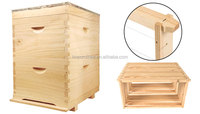 Two layers 10/8 Frames Beekeeping Beehive Made of Premium New Zealand Pine Wood