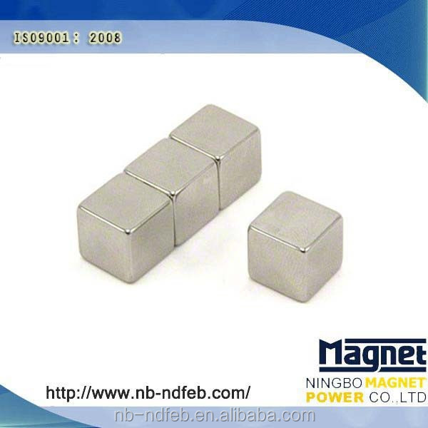 Strong NdFeb High Quality Block Neodyme Aimant Cube 2/4/6/8/10mm
