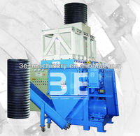 plastic pipe shredder and crusher