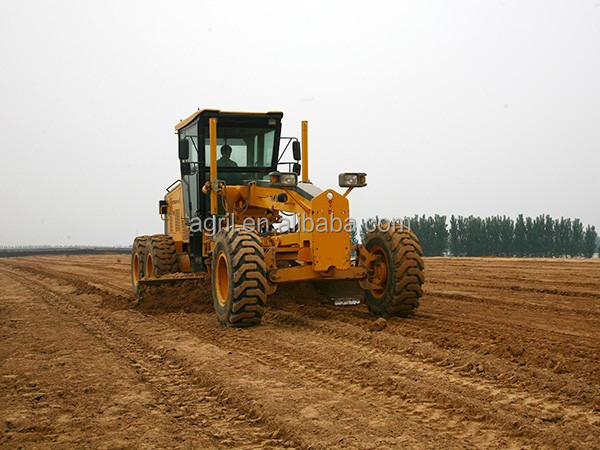 hot sale top quality best price hydraulic motor grader 165C use ZF gear and Cus engine with CE cerfication