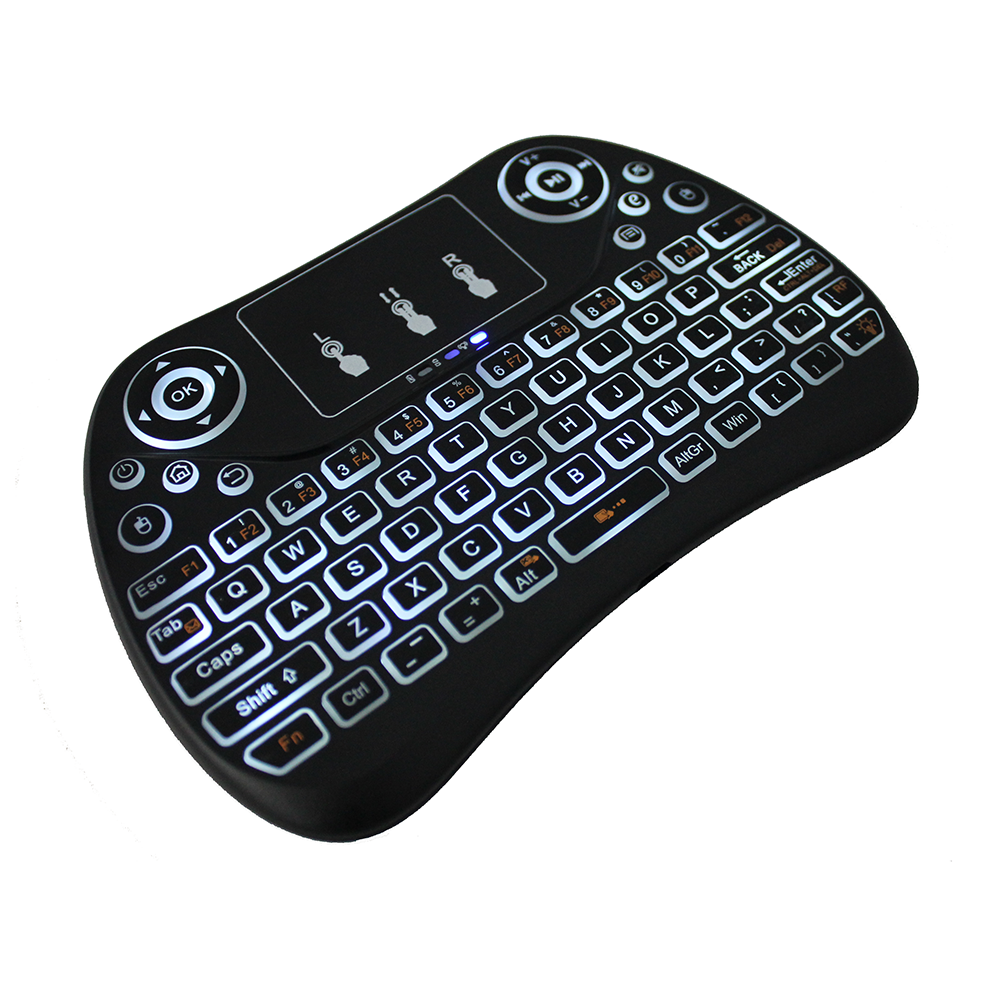 Zkmagic Cheap Wireless Keyboard And Mouse Mini Keybaord I8 Back Light Supra Tv Remote Control