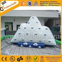 New style inflatable iceberg inflatable water climbing wall A9044A
