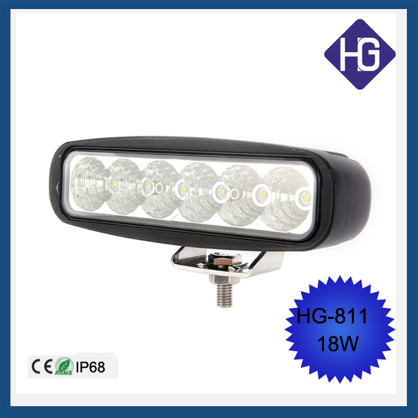 Car accessories led auto interior light 6 inch <strong>Crees</strong> 18W led work light bar IP68 cheaper