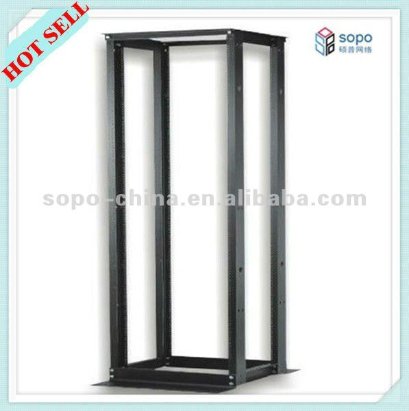 Strong and reliable Double section Open Rack,open frame rack, easy and quick to assemble