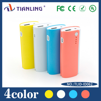 2015 Mini Fashion Super Fast Charge 4400mah Power Bank,Portable Mobile Phone Charger,Portable Charger With Flash Light