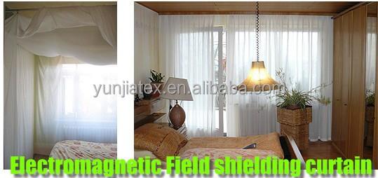 Silver Fiber Nylon RFI EMI Shielding Thin Fabric for Curtain