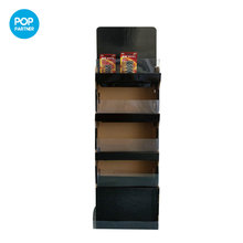 Alibaba Supermarket Paper Display Stand/Cardboard Floor Nut Display Stand