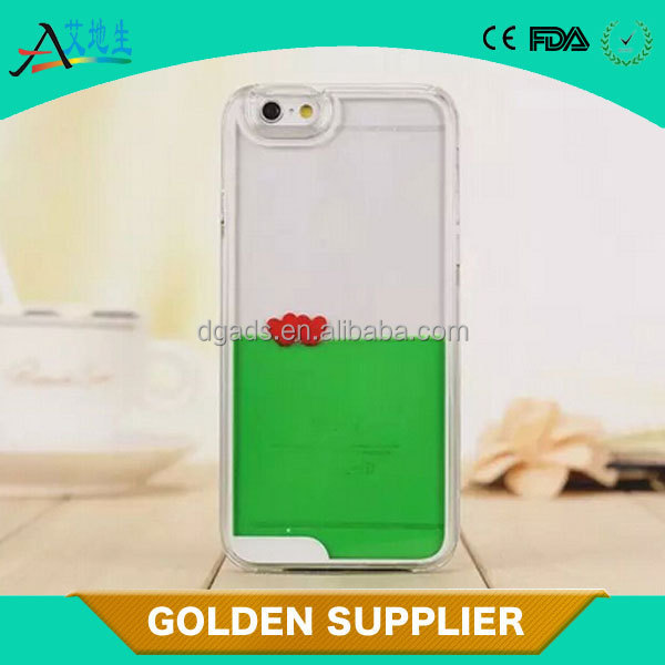 plastic material liquid type pc/tpu manufacture phone case