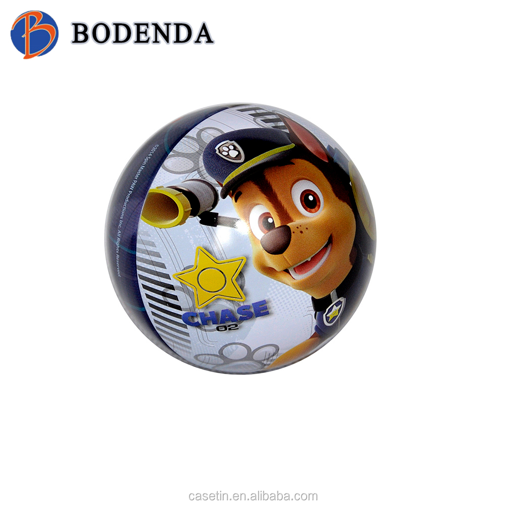 Alibaba ball tin / metal ball box / ball can / toy