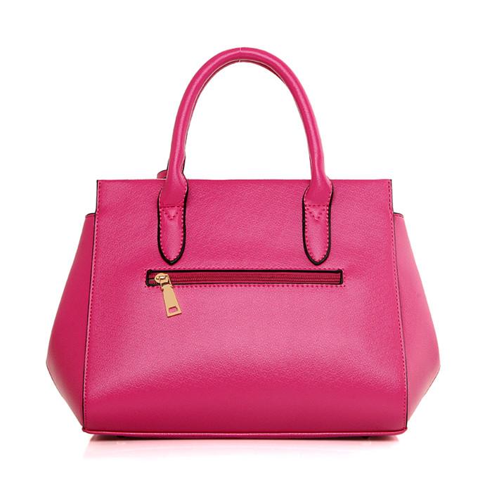 Fashion 3pcs lady tote shoulder bag pu leather 3set women bag