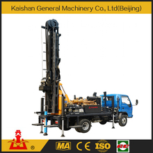 High quality 200m depth best price hot sale truck mounted water well drilling rig KW20