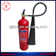co2 5kg fire extinguisher with wall bracket