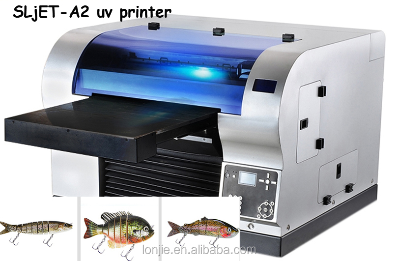 Lure uv printing machine Small lures flatbed printer